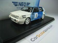 VOLKSWAGEN GOLF RALLYE G60  #1TEST CAR 1/43 NEO