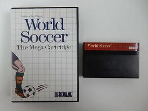 World Soccer - The Mega Cartridge für Sega Master System - PAL - in OVP