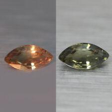 Un par de 8x4mm Marquesa-faceta piedras preciosas naturales de la India Orissa Granate