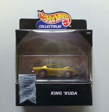 Hot Wheels Collectibles Limited Edition King 'Kuda Gold Redline NIP B2490 1:64
