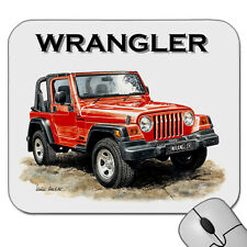JEEP  WRANGLER         MOUSE PAD   MOUSE MAT