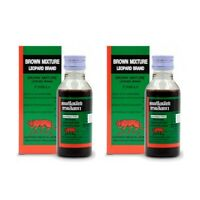 60 ml Brown Mixture Famous Thai Cough Relief Expectorant Demulcent Syrup