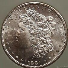 1881-S Morgan Dollar Choice Unc+ !! ~NTC slab~ Nice/Lustrous