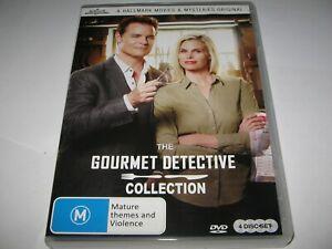 THE GOURMET DETECTIVE COLLECTION (2015-17) RARE IMPORT 4 DVD SET   Australian TV