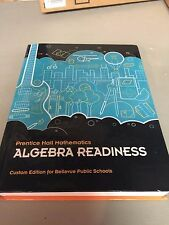 ALGEBRA READINESS CUSTOM FOR BELLEVUE PUBLIC SCHOOLS 978-1-256-16276-6