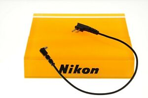 Nikon flash sync lead. MINT condition. Genuine product.