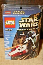 Lego 4487 Star Wars Mini Jedi Starfighter And Slave I set