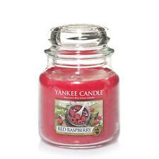 YANKEE CANDLE candela profumata giara media Red Raspberry durata 90 ore
