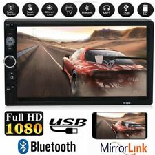 7 inch Touch Screen HD 1080P 2 Din Car DVR System Stereo Bluetooth MP5 Player