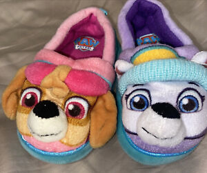 Paw patrol slippers M 7/8 girls
