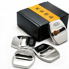 4pcsset Accessories Car Stainless Steel Door Lock Protector Cover For Kia Fits 2011 Kia Sportage