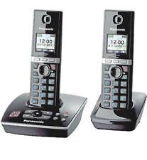PANASONIC KX-TG 8062 GB,Cordless Phone,Black