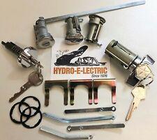 NEW 1970 Dodge Coronet & Super Bee Complete OE Style lock set with OE keys