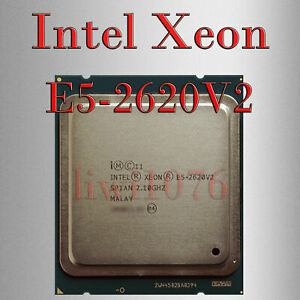 Intel Xeon E5-2620 v2 CPU 6 Core 12 Thread 2.1 GHz L3-15MB LGA 2011/Socket R CPU