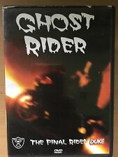 GHOST RIDER - The Final Ride ~ Insane Moto Bici STUNTS Documental GB DVD