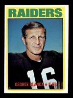 1972 Topps #235 George Blanda EX+ X1223568