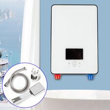 220V 6500W Digital Tankless Warmwasser Dusche Set  Bade Sofort Durchlauferhitzer