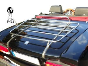 LUGGAGE CARRIER FIAT 124 SPIDER 1966-1985 BOOT RACK STAINLESS STEEL
