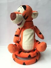 "Disney Just Play TIGGER Talking Bouncing Electronic Plush Toy 13"" Works"