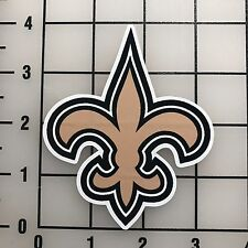 "New Orleans Saints NFL 4"" Tall VInyl Decal Sticker - BOGO"