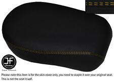 YELLOW DS STITCH VINYL CUSTOM FITS YAMAHA XVS 650 CLASSIC V STAR REAR SEAT COVER