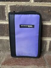 Official Nintendo DS Purple & Black Video Game Accessories Carrying Case