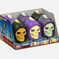 Mega Construx Skeletor Head LOT - includes 3 Playsets (He-Man, Fisto, Trap Jaw)