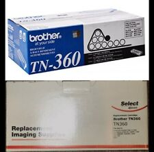 Brother TN-360 TN360 BRAND NEW OEM  Black Toner Cartridge Sealed  + Replacemnt