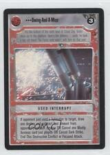 1997 Star Wars Customizable Card Game: Cloud City #NoN Swing-And-A-Miss 0b5