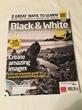 Black & White PHOTOGRAPHY Made Easy 228 Pages + DVD CREATE AMAZING IMAGES Guide