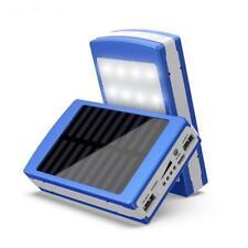 Led Solar Portátil USB Dual Batería Externa 5x18650 Cargador de Estuche