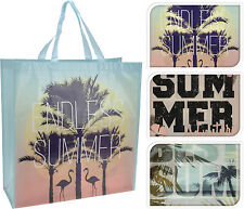 Extra Large Shopping Bag Tote Picnic Bag Holiday Beach Bag Shopper 6 Designs