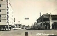 Autos Hotel San Carlos Business Yuma Arizona 1940s RPPC Photo Postcard 9162