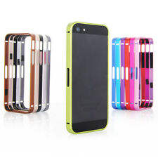 Luxury Ultra Thin Metal Aluminium Alloy Bumper Frame Case Cover for iPhone5 5S