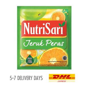 [NUTRISARI] Vitamin C Mineral Halal Drink Powder Sachet Jeruk Peras 40x14g