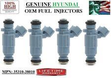 x4 Re-man Fuel Injectors OEM Hyundai Car Models: 2004-2006  Kia Amanti 3.5L