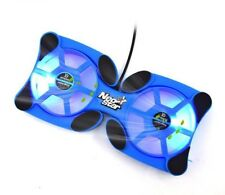 Laptop Cooling Pads Usb With Double Fans Mini Octopus Non Slip Mats New Foldable