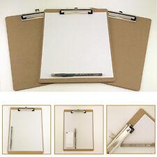 "12pk Letter Size Clipboard 9"" x 12.5"" Desk Office Supplies Organizer Document"