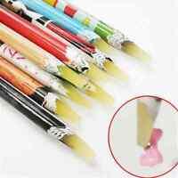 "8.2"" Gem Crystal Rhinestones Picker Pencil Nail Art Craft Decor Tool Wax Pen TR"