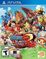 One Piece Unlimited World Red (Sony PlayStation Vita PSV) BRAND NEW