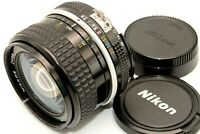 Excellent+++++ Nikon Ai NIKKOR 24mm f/2.8 Ultra Wide Angle Lens Caps from Japan