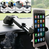 360° Car Windshield Stand Mount Holder For GPS iPhone Samsung LG KY