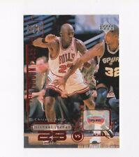 1998 UPPER DECK LIVING LEGEND #158 MICHAEL JORDAN CARD HOF HALL OF FAME UD