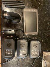 Car/Trailer 3 Camera Backup System, IR, Night vision,  Wireless. Open Box
