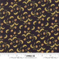 MODA Thankful acorn leaves 100% cotton fabric by the yard 19902 14 Thanksgiving