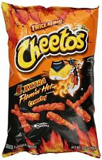 Cheetos Xxtra Flamin' Hot Crunchy (4 Bags) Chips - 9.75 Oz