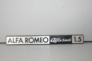 FREGIO SIGLA BADGE STEMMA ALFA ROMEO ALFASUD 1.5