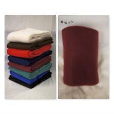 Burgundy Multi purpose Polar Fleece Blanket