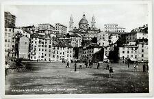 Cartolina Fotografica Formato Piccolo - Genova Vecchia - Spianata Della Marina N