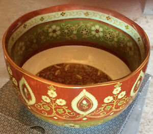 222 Fifth Kashmir Set of Four Soup/Cereal Bowls ~ NIB